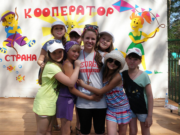 Hannah Carley, Study Abroad Advisor, travels to Russia