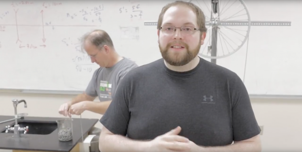 Conservation of Momentum with Will and Larry