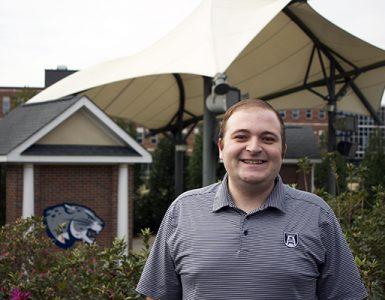 David Peltier headshot on Summerville Campus