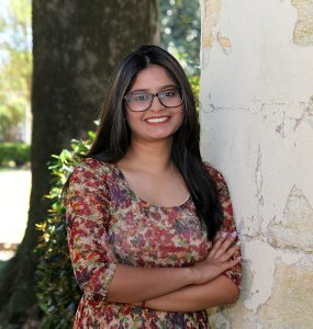 Ophthalmology research done by undergrad Shubhra Rajpurohit