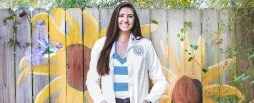 Dental College of Georgia student Paige Elliott