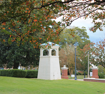 Picture of Augusta University Campus during the fall