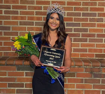 photo from article Meet Augusta University's Homecoming Queen: A future nurse